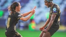 Asisat Oshoala-Barça féminin-Ligue des champions