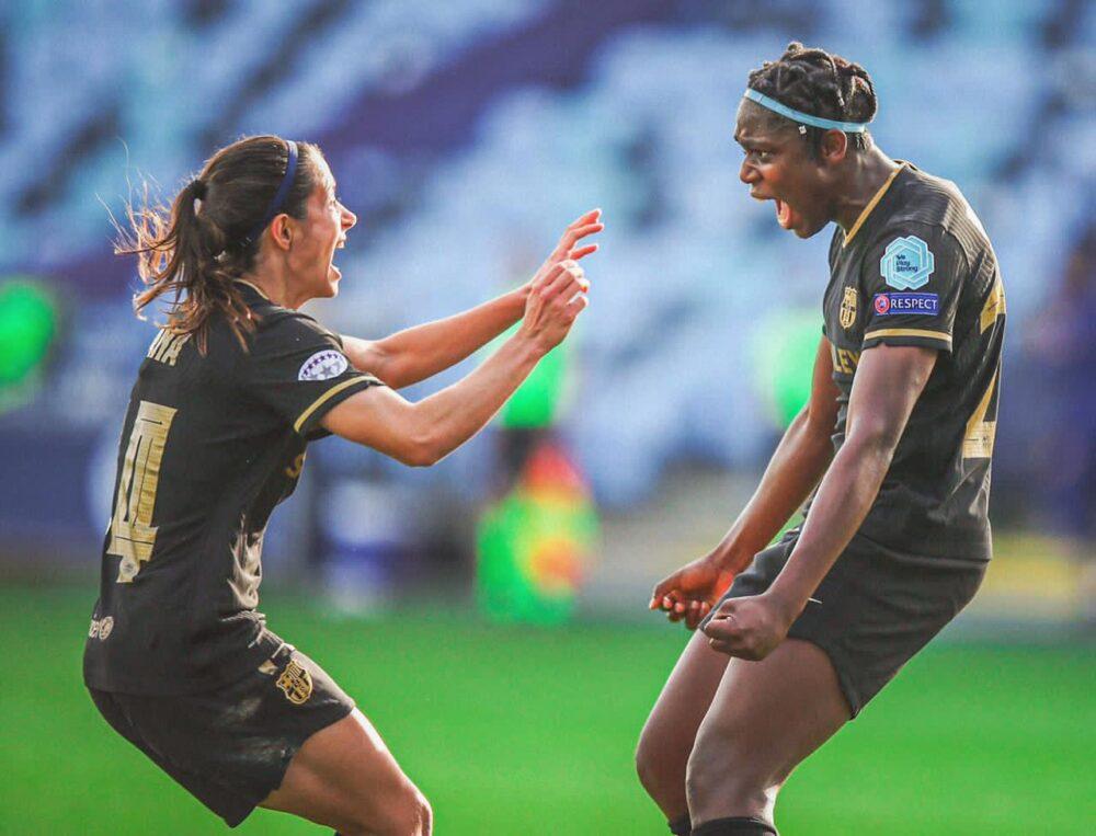 Asisat Oshoala s'épanouit avec le Barça féminin