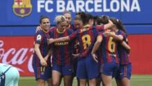 Barça féminin étrille 7-1 Levante