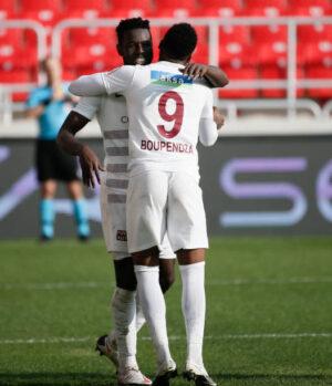 Boupendza et Mame Biram comptent 33 buts à eux deux