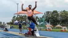 Cheswill Johnson, la relève sud-africaine au saut en longueur