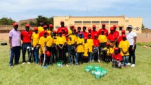 jeunes golfeurs maliens