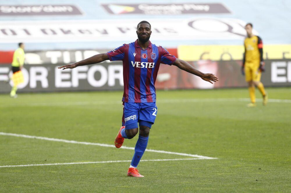 Djaniny Semedo, attaquant cap-verdien de Trabzonspor