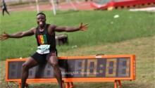Ferdinand Omanyala Omurwa-Kenya-record 100m
