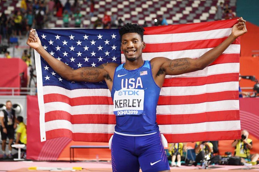 Fred Kerley dans l'histoire du sprint