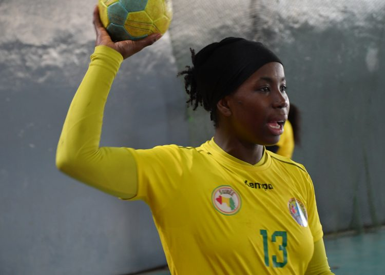 Hawa Kanté, ailière Guinée Handball