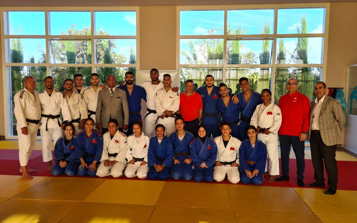 Judo - sélection nationale du Maroc