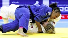 La judokate marocaine Asmaa Niang cherche encore son ticket pour Tokyo 2021.