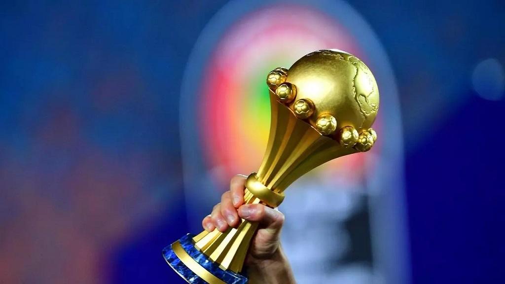 Le trophée de la Coupe d'Afrique des nations (CAN) de football.