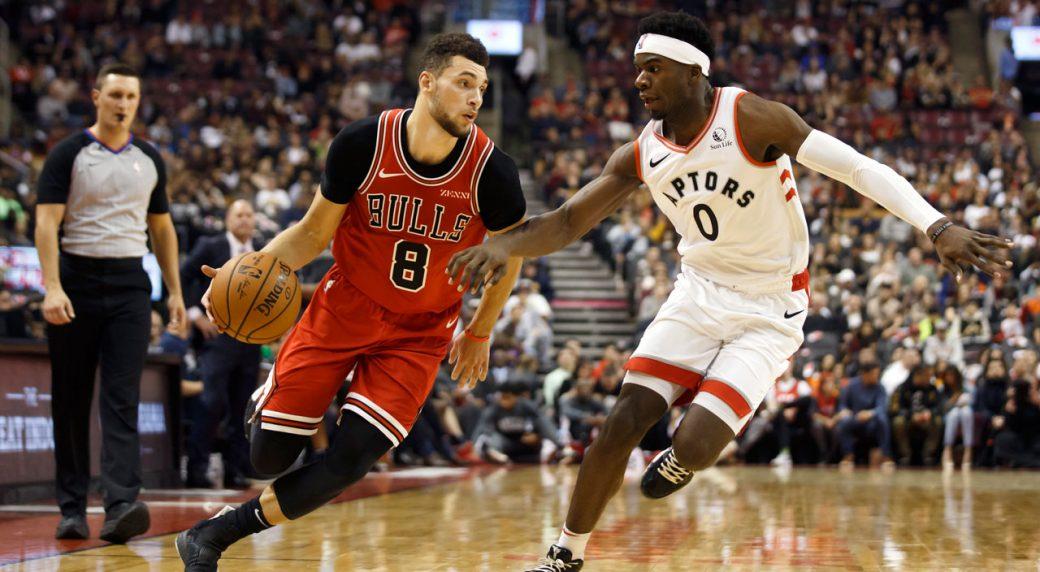 Les Raptors de Toronto s'inclinent devant les Bulls de Chicago