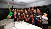 Les féminines du PSG qualifiées en demi-finale de la C1