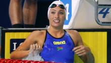 Tatjana Schoenmaker-natation-50 m brasse-record Afrique du sud