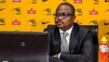 Tebogo Montlanthe, Directeur général de la Fédé sud-africaine de football.