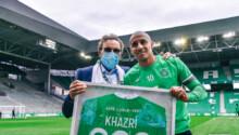Wahbi Khazri 200 matchs avec Saint-Etienne