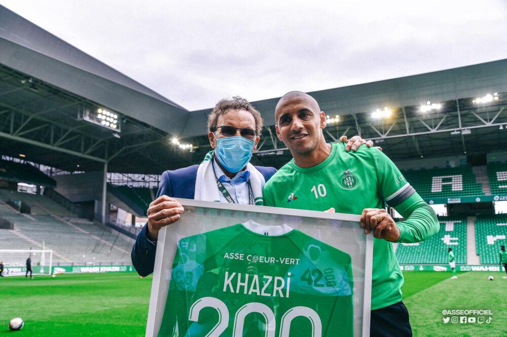 Wahbi Khazri, 200 matchs avec Saint-Etienne