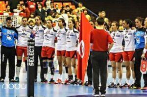 Tunisie - CAN de Handball-préparation