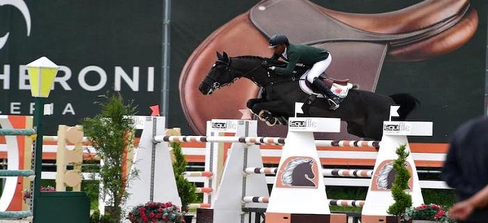 Abdelkebir Ouaddar sur son cheval