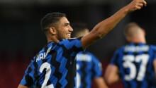 Achraf Hakimi défenseur marocain de l'Inter Milan