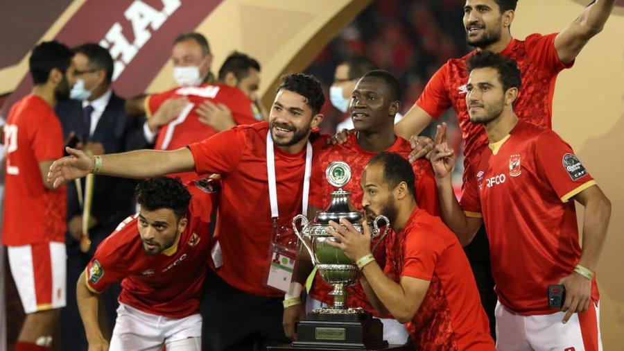 Al Ahly vainqueur Supercoupe