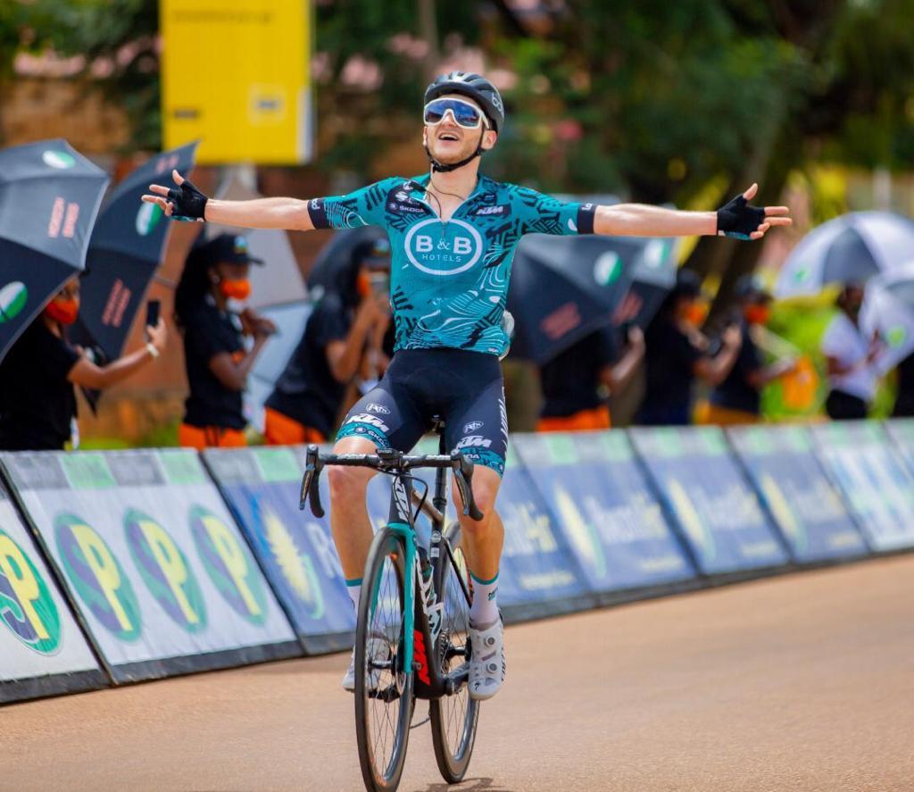 Alan Boileau, vainqueur de la 2e étape du Tour du Rwanda