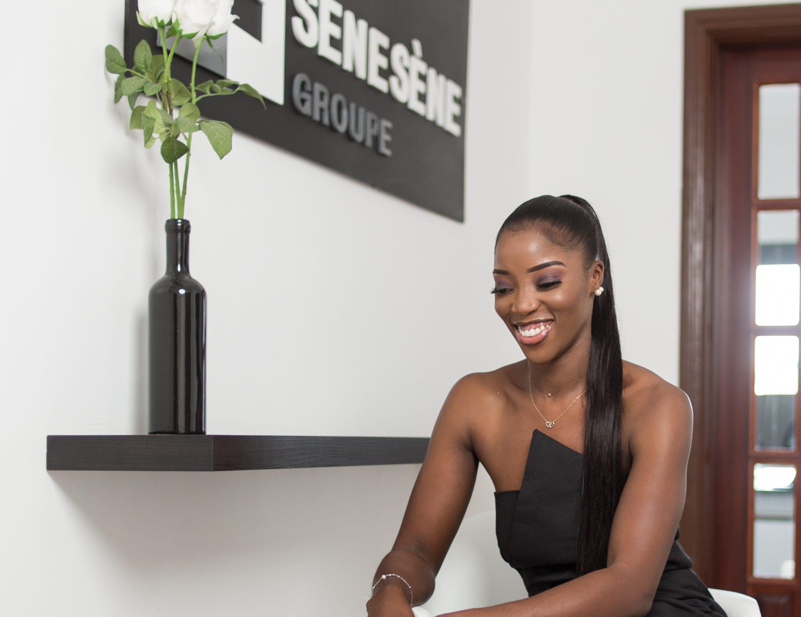 L'athlète sénégalaise en retraite Amy Sène.