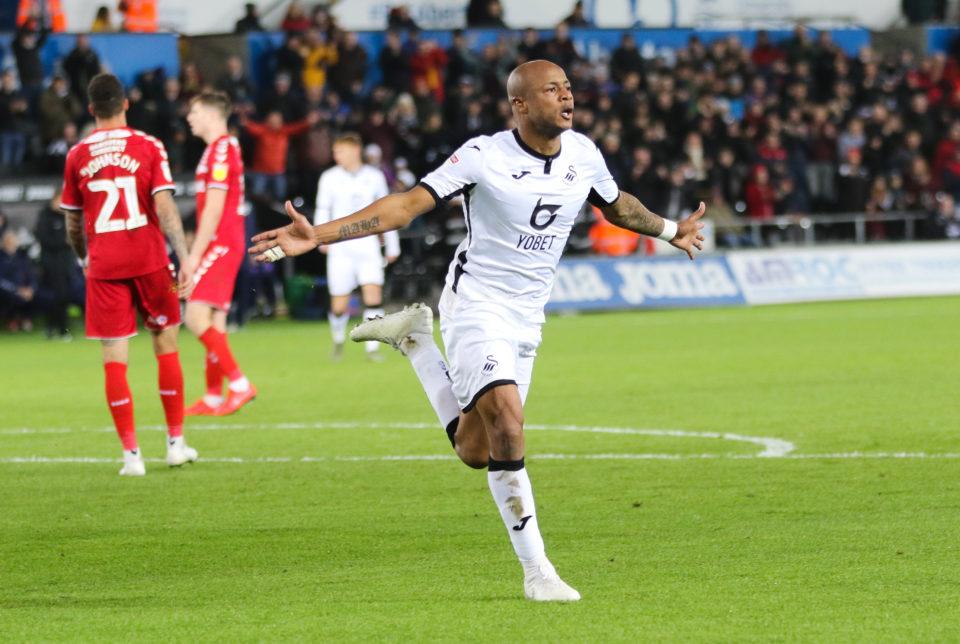 Ayew (Swansea) est bien lancé dans la course pour  la Premier League.