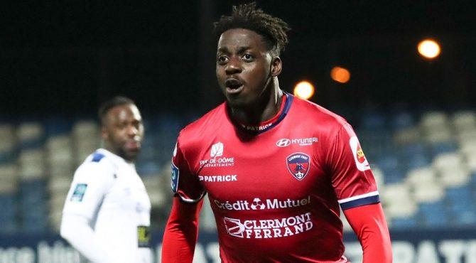 Le Guinéen Mohamed Bayo, le meilleur buteur de la Ligue 2.