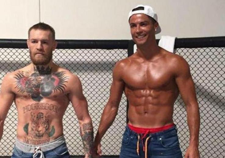 Connor McGregor et Ronaldo