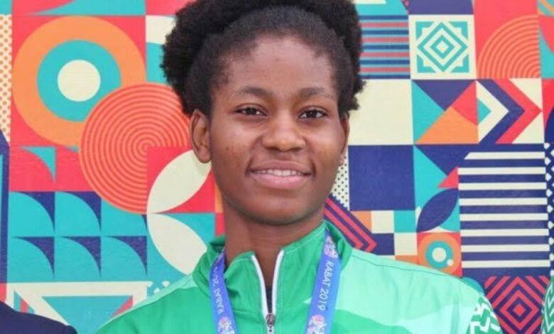 Elizabeth Anyanacho , classée 6e en Afrique