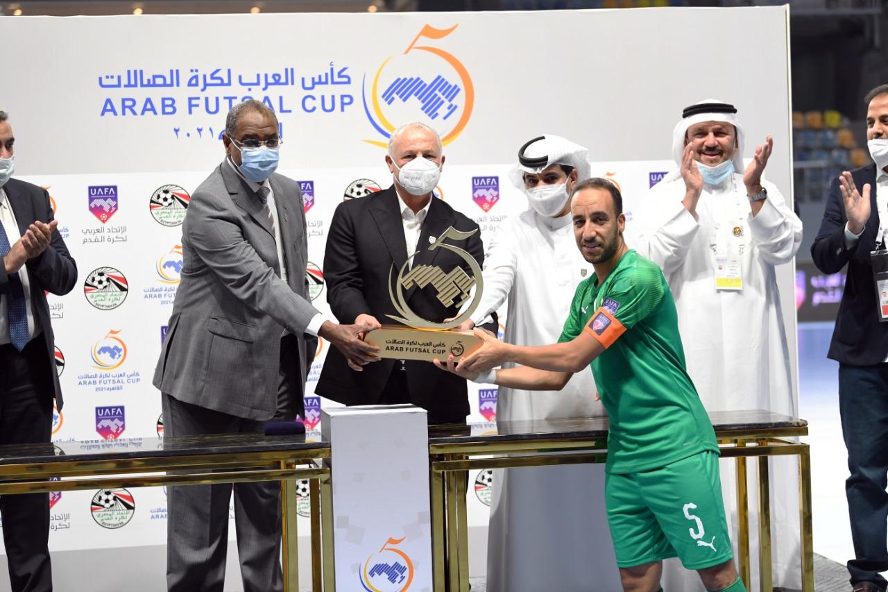 Futsal - finale Maroc-Coupe arabe