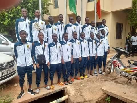 Les U15 du Mali.