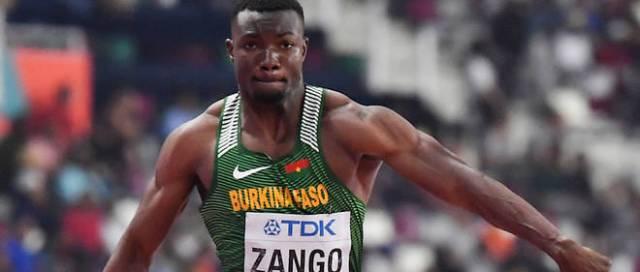 Le Burkinabè Hugues Fabrice Zango remporte la médaille d'or au Meeting d'Ostrava