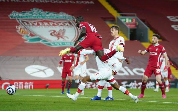 Le but de Mané lors de la victoire (2-0) de Liverpool contre Southampton.