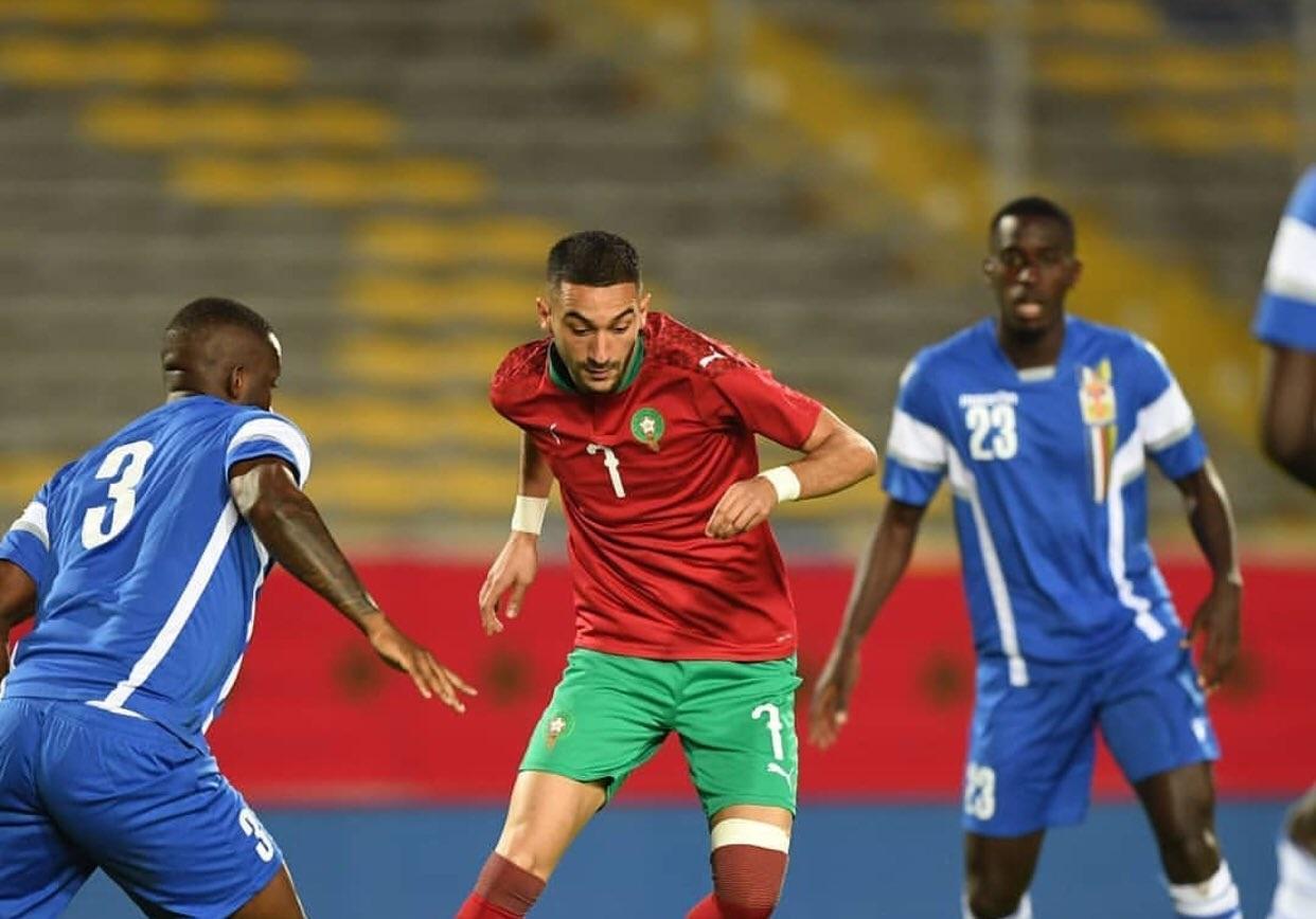 Hakim Ziyech et les Lions de l'Atlas disputeront deux matchs amicaux en juin.