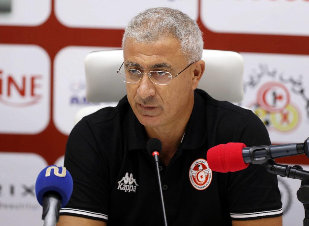 Le sélectionneur de la Tunisie, Mondher Kebaier.