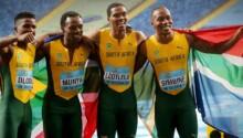 Relais 4X100 sud-africain