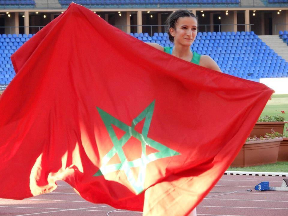 Rhizlane Siba améliore son record du Maroc.