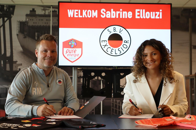 Sabrine Ellouzi rejoint l'Excelsior Rotterdam en D2 des Pays-Bas