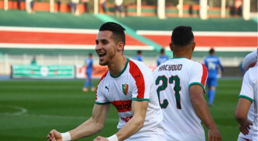Samy Frioui, MC Alger