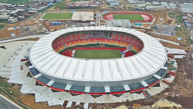 Le stade de Japoma