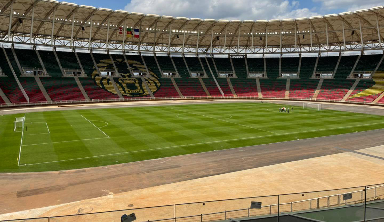 Le stade de Garoua dans le Nord du Camroun.