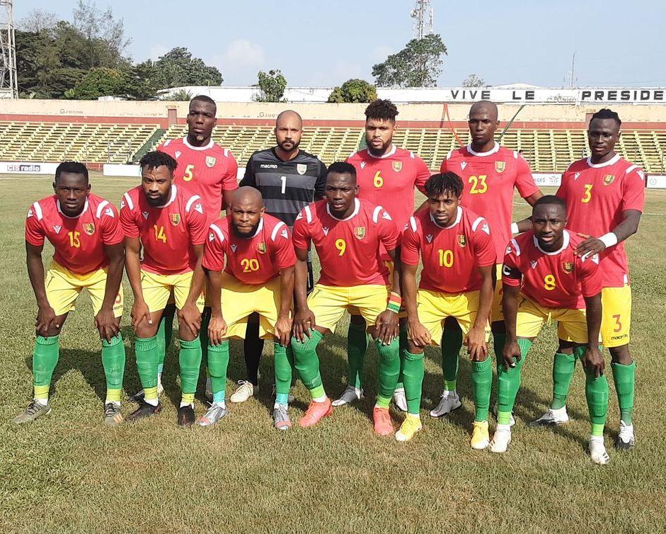 Le Syli national de Guinée.