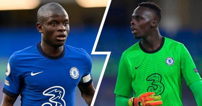 Ngolo Kanté et Edouard Mendy