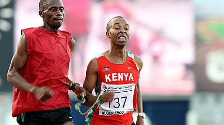 le Kényan Henry Wanyoike qualifié  aux Jeux paralympiques