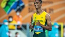 Lythe Pillay-Afrique du Sud - 400m