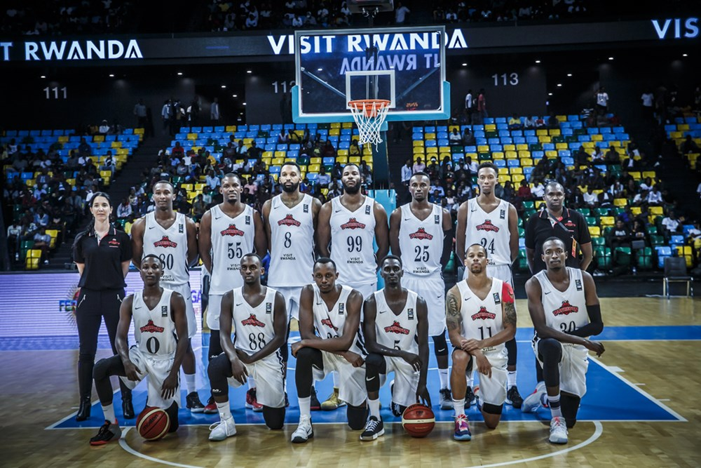 Les Rwandais de Patriots BC.