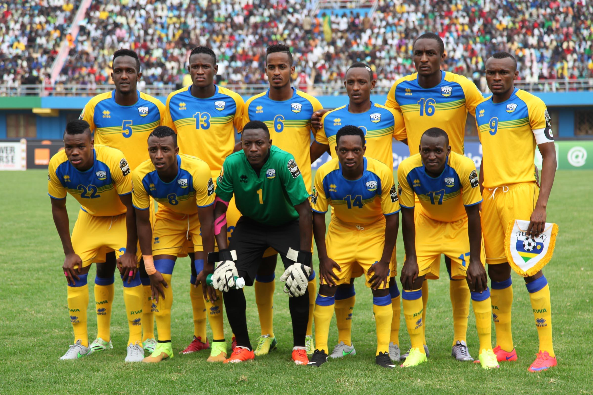La sélection du Rwanda.