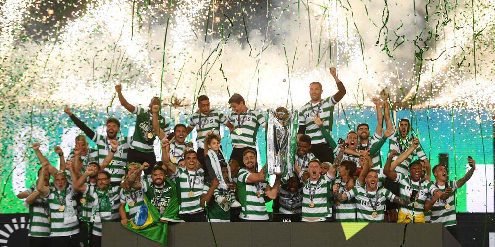 Le Sporting, avec ses deux Africains, est sacré champion du Portugal.
