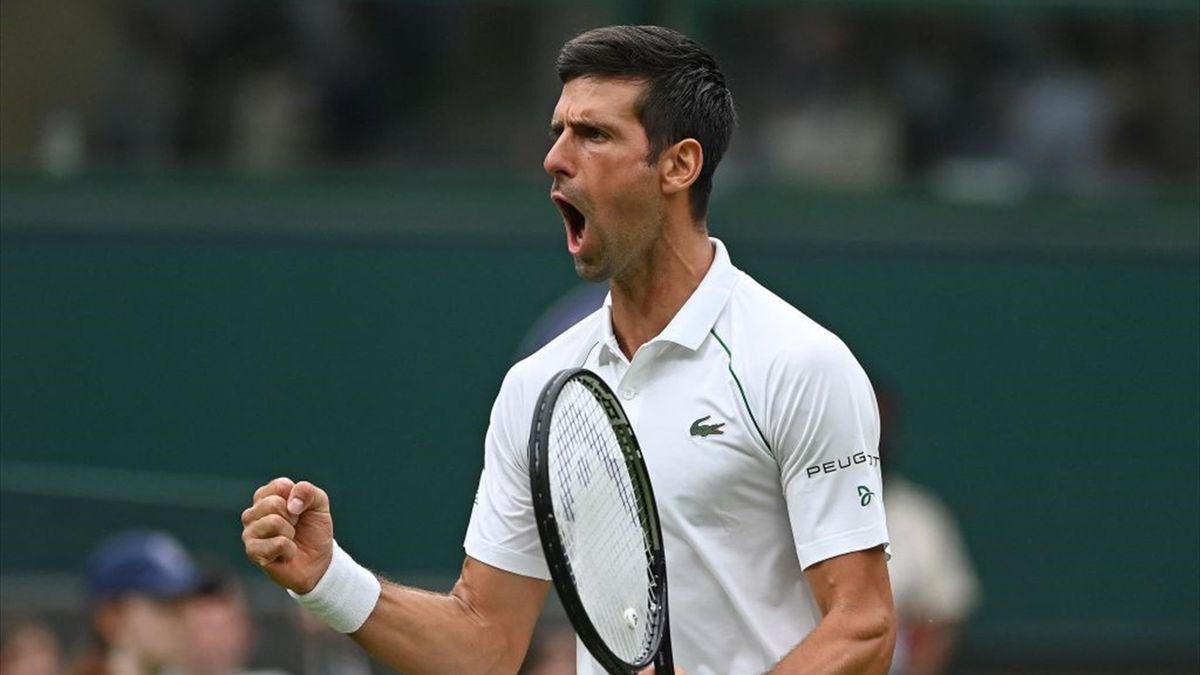 Victoire de Novak Djokovic au premier tour de Wimbledon