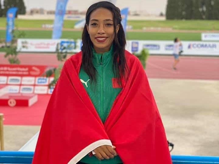 Assia Raziki a notamment réalisé ses meilleures performances personnelles sur 200 et 400 m.